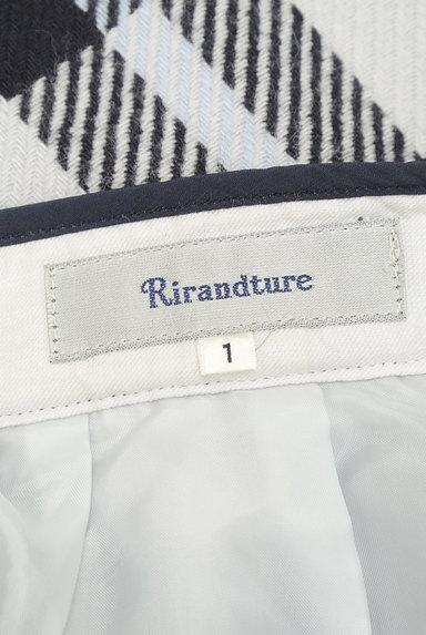 Rirandture(リランドチュール)の古着「チェック柄ウールスカート(スカート)」大画像6へ