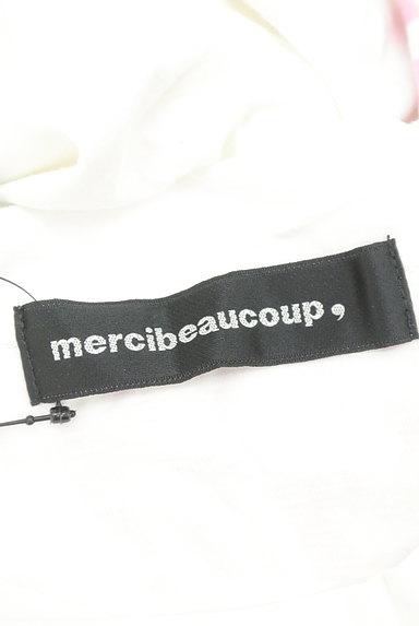 mercibeaucoup(メルシーボークー)の古着「袖ボーダーカットソーワンピース(ワンピース・チュニック)」大画像6へ
