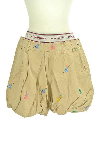 FRAPBOIS(フラボア)の古着「刺繍バルーンショートパンツ(ショートパンツ・ハーフパンツ)」大画像1へ