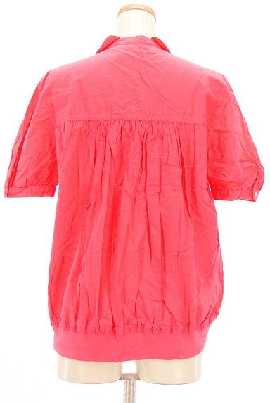 mercibeaucoup(メルシーボークー)の古着「刺繍カットワークカラーシャツ(カジュアルシャツ)」大画像2へ