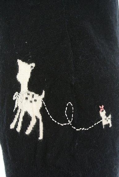 Franche lippee(フランシュリッペ)の古着「刺繍ポイントニットソー(ニット)」大画像5へ