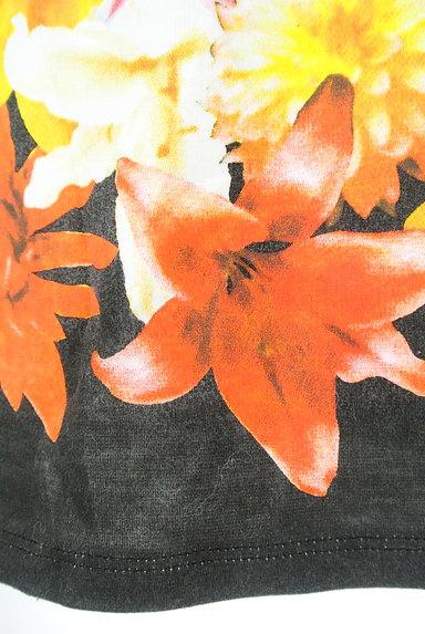 rienda(リエンダ)の古着「カラー花柄タイトミニスカート(ミニスカート)」大画像5へ