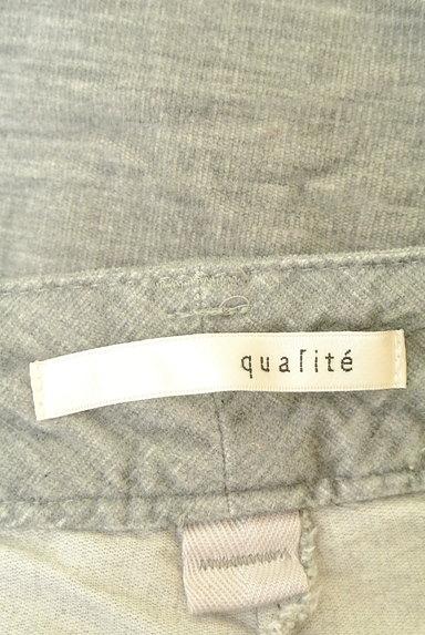 qualite(カリテ)の古着「シンプル起毛パンツ(パンツ)」大画像6へ