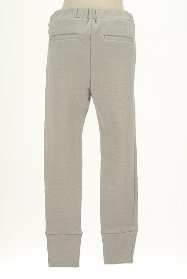 BLACK BY MOUSSY(ブラックバイマウジー)の古着「スウェットクロップドパンツ(パンツ)」大画像2へ