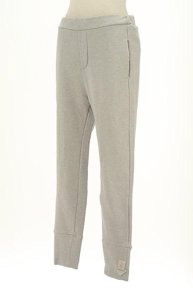 BLACK BY MOUSSY(ブラックバイマウジー)の古着「スウェットクロップドパンツ(パンツ)」大画像4へ