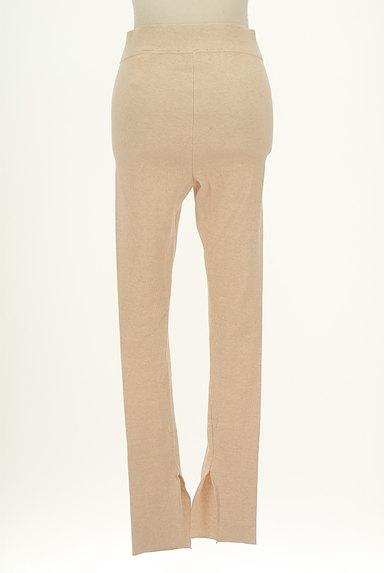 BLACK BY MOUSSY(ブラックバイマウジー)の古着「裾スリットリブレギンス(パンツ)」大画像2へ
