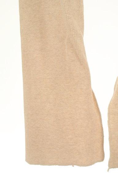 BLACK BY MOUSSY(ブラックバイマウジー)の古着「裾スリットリブレギンス(パンツ)」大画像5へ