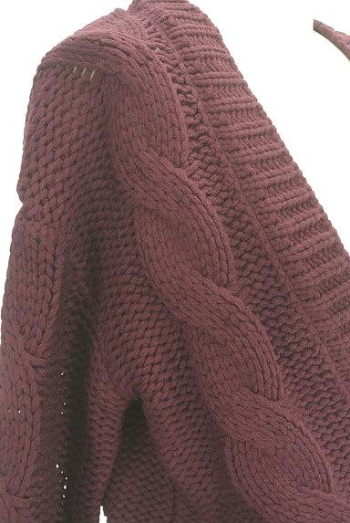 dazzlin(ダズリン)の古着「ショート丈ケーブルカーディガン(カーディガン・ボレロ)」大画像5へ