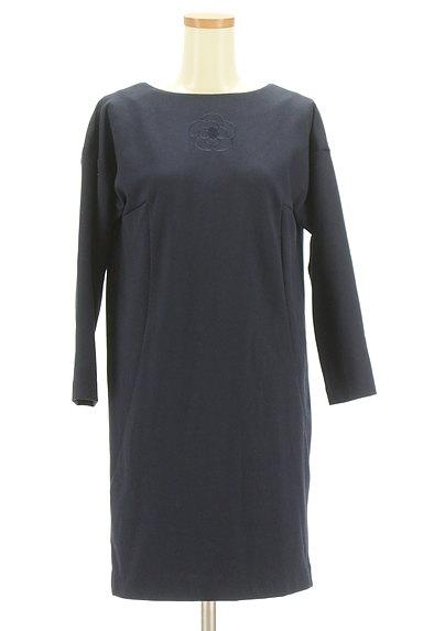 CLATHAS(クレイサス)の古着「アイコン刺繍シンプルワンピース(ワンピース・チュニック)」大画像1へ