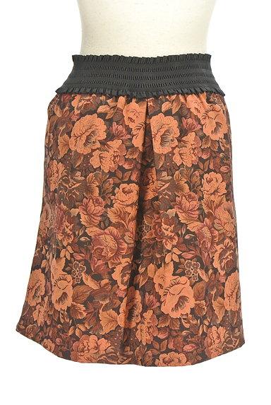 axes femme(アクシーズファム)の古着「レトロ花柄スカート(スカート)」大画像2へ