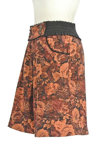 axes femme(アクシーズファム)の古着「レトロ花柄スカート(スカート)」大画像3へ