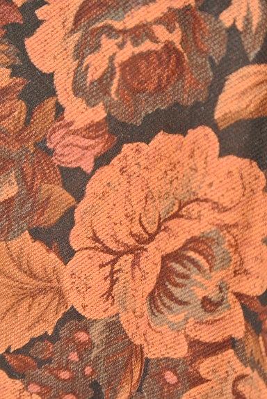 axes femme(アクシーズファム)の古着「レトロ花柄スカート(スカート)」大画像5へ