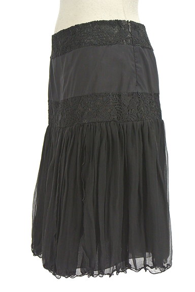 Blumarine(ブルマリン)の古着「刺繍レースシアースカート(スカート)」大画像3へ