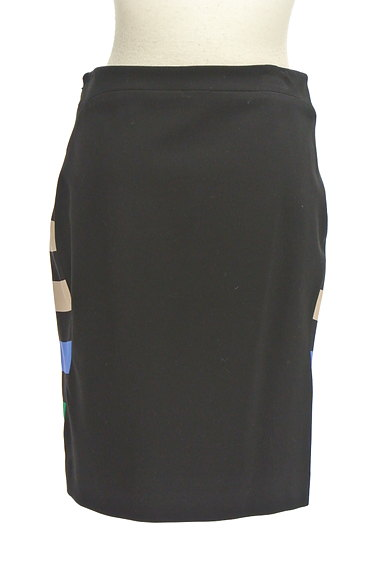DIANE VON FURSTENBERG(ダイアンフォンファステンバーグ)の古着「マルチボーダータイトスカート(スカート)」大画像2へ