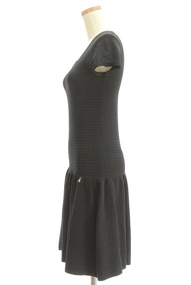 PATRIZIA PEPE(パトリッツィアペペ)の古着「裾切替フリルニットワンピース(ワンピース・チュニック)」大画像3へ