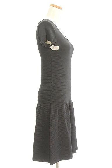 PATRIZIA PEPE(パトリッツィアペペ)の古着「裾切替フリルニットワンピース(ワンピース・チュニック)」大画像4へ