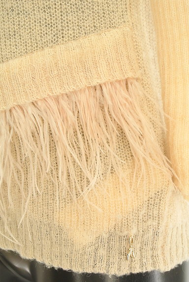 PATRIZIA PEPE(パトリッツィアペペ)の古着「フリンジニット(ニット)」大画像4へ