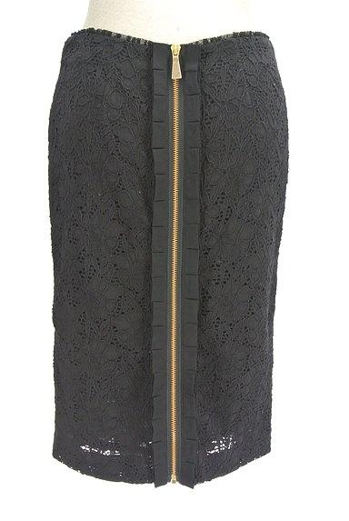 Blumarine(ブルマリン)の古着「総レースタイトスカート(スカート)」大画像2へ