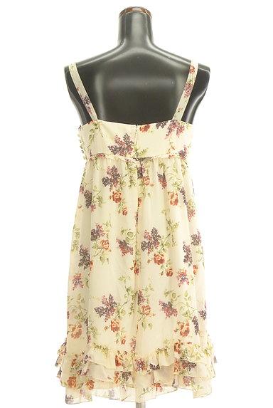 LAISSE PASSE(レッセパッセ)の古着「花柄シフォンワンピース(ワンピース・チュニック)」大画像2へ