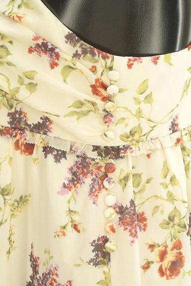 LAISSE PASSE(レッセパッセ)の古着「花柄シフォンワンピース(ワンピース・チュニック)」大画像4へ