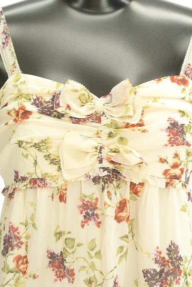LAISSE PASSE(レッセパッセ)の古着「花柄シフォンワンピース(ワンピース・チュニック)」大画像5へ