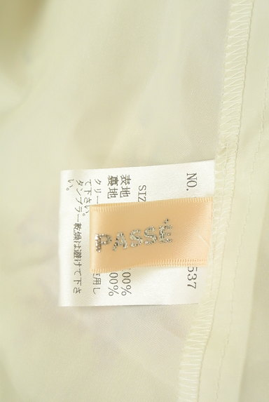 LAISSE PASSE(レッセパッセ)の古着「花柄シフォンワンピース(ワンピース・チュニック)」大画像6へ