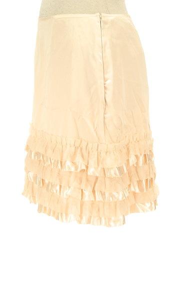 LAISSE PASSE(レッセパッセ)の古着「裾フリルサテンスカート(ミニスカート)」大画像3へ