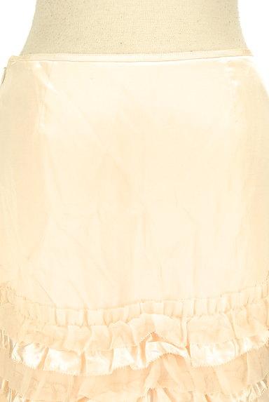 LAISSE PASSE(レッセパッセ)の古着「裾フリルサテンスカート(ミニスカート)」大画像5へ