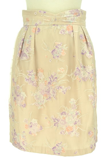 LAISSE PASSE(レッセパッセ)の古着「花柄オーガンジータイトスカート(スカート)」大画像1へ