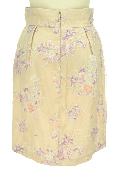 LAISSE PASSE(レッセパッセ)の古着「花柄オーガンジータイトスカート(スカート)」大画像2へ
