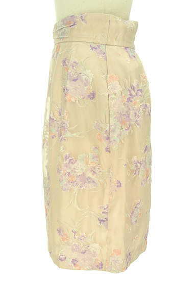 LAISSE PASSE(レッセパッセ)の古着「花柄オーガンジータイトスカート(スカート)」大画像3へ