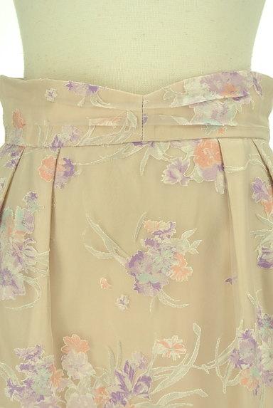 LAISSE PASSE(レッセパッセ)の古着「花柄オーガンジータイトスカート(スカート)」大画像4へ