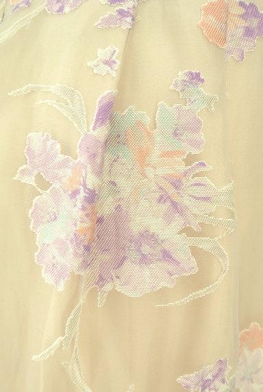 LAISSE PASSE(レッセパッセ)の古着「花柄オーガンジータイトスカート(スカート)」大画像5へ