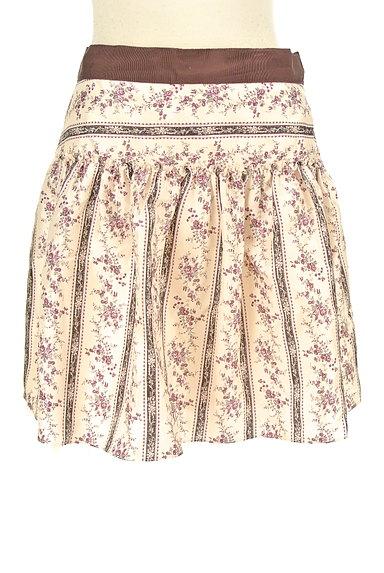 LAISSE PASSE(レッセパッセ)の古着「小花柄フレアミニスカート(ミニスカート)」大画像1へ