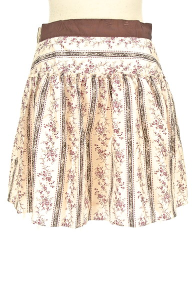 LAISSE PASSE(レッセパッセ)の古着「小花柄フレアミニスカート(ミニスカート)」大画像2へ