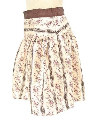 LAISSE PASSE(レッセパッセ)の古着「小花柄フレアミニスカート(ミニスカート)」大画像3へ