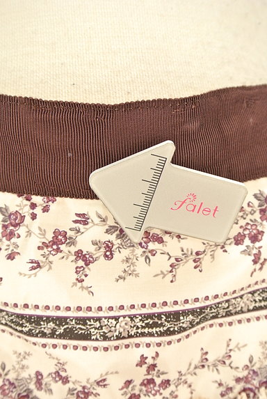 LAISSE PASSE(レッセパッセ)の古着「小花柄フレアミニスカート(ミニスカート)」大画像5へ