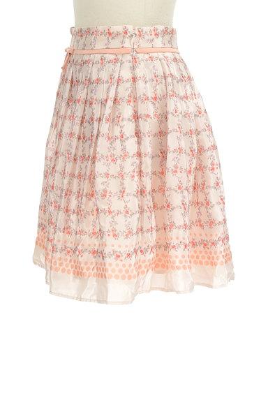 LAISSE PASSE(レッセパッセ)の古着「花柄リボンミニスカート(ミニスカート)」大画像3へ