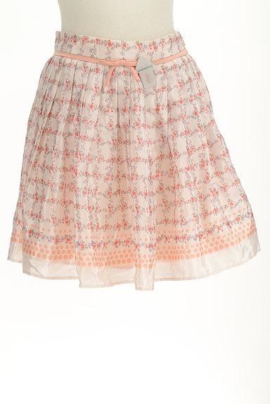 LAISSE PASSE(レッセパッセ)の古着「花柄リボンミニスカート(ミニスカート)」大画像4へ