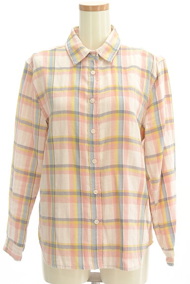 RODEO CROWNS(ロデオクラウン)の古着「チェック柄ガーゼシャツ(カジュアルシャツ)」大画像1へ