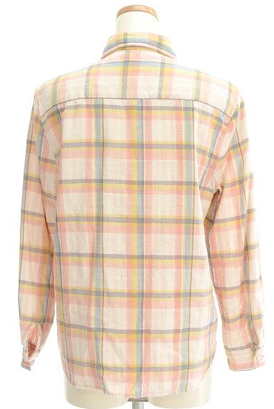 RODEO CROWNS(ロデオクラウン)の古着「チェック柄ガーゼシャツ(カジュアルシャツ)」大画像2へ