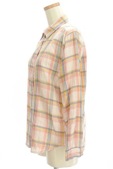 RODEO CROWNS(ロデオクラウン)の古着「チェック柄ガーゼシャツ(カジュアルシャツ)」大画像3へ