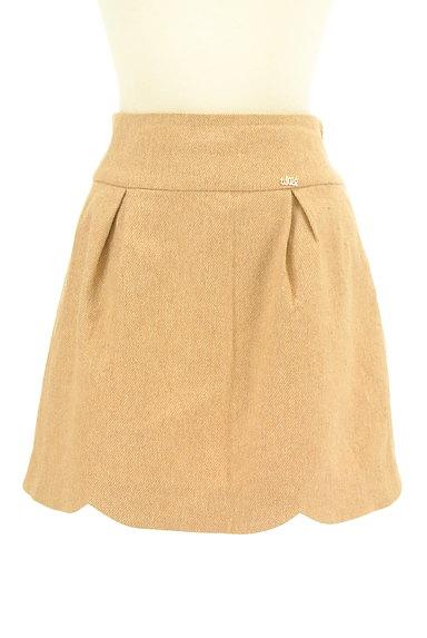 WILLSELECTION(ウィルセレクション)の古着「ビッグリボンスカラップスカート(ミニスカート)」大画像1へ