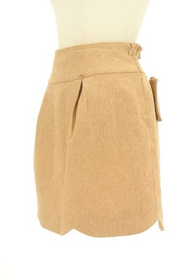 WILLSELECTION(ウィルセレクション)の古着「ビッグリボンスカラップスカート(ミニスカート)」大画像3へ