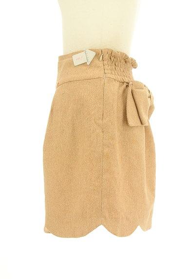 WILLSELECTION(ウィルセレクション)の古着「ビッグリボンスカラップスカート(ミニスカート)」大画像4へ