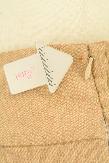 WILLSELECTION(ウィルセレクション)の古着「ビッグリボンスカラップスカート(ミニスカート)」大画像5へ