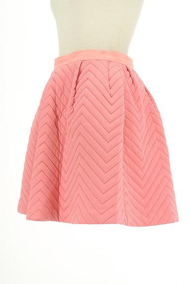 MERCURYDUO(マーキュリーデュオ)の古着「キルティングフレアスカート。(ミニスカート)」大画像3へ