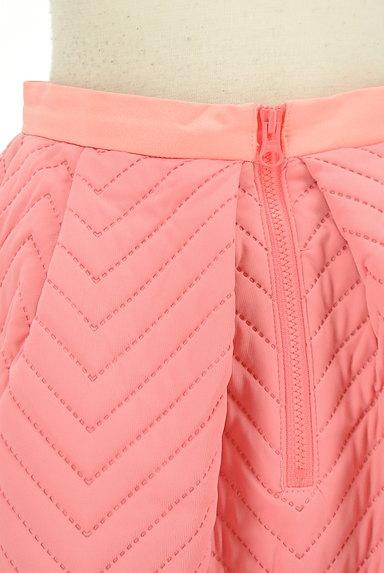 MERCURYDUO(マーキュリーデュオ)の古着「キルティングフレアスカート。(ミニスカート)」大画像4へ