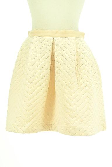 MERCURYDUO(マーキュリーデュオ)の古着「キルティングフレアスカート(ミニスカート)」大画像1へ