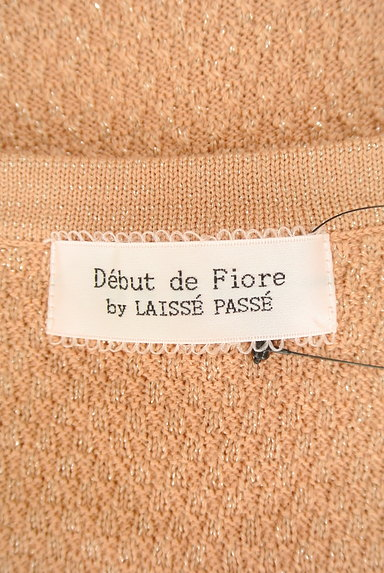 Debut de Fiore by LAISSE PASSE(デビュー・ド・フィオレ)の古着「リボンポケットカーディガン(カーディガン・ボレロ)」大画像6へ